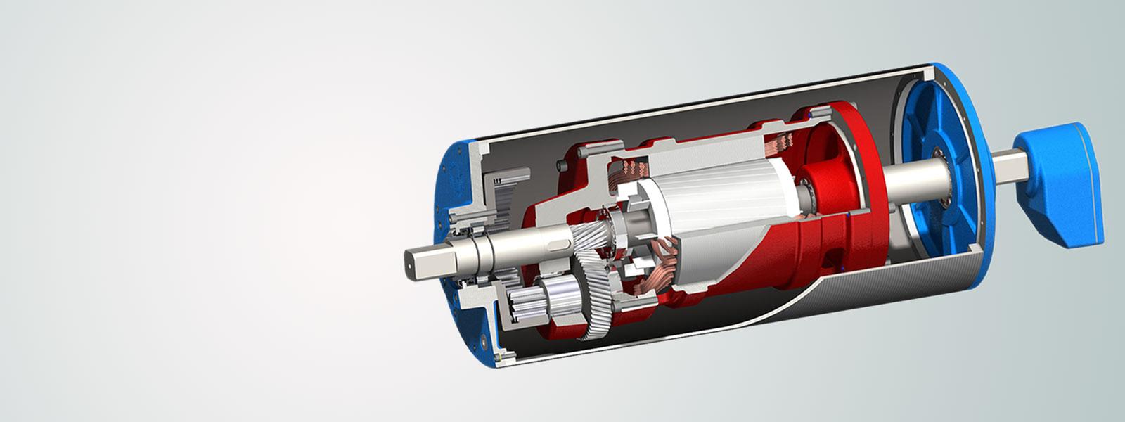 bantmotor tambur motor